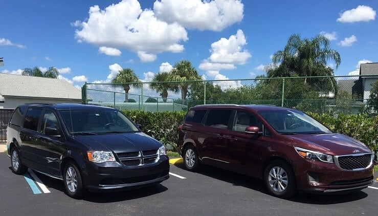 Carros para serviço de transfer em Tampa