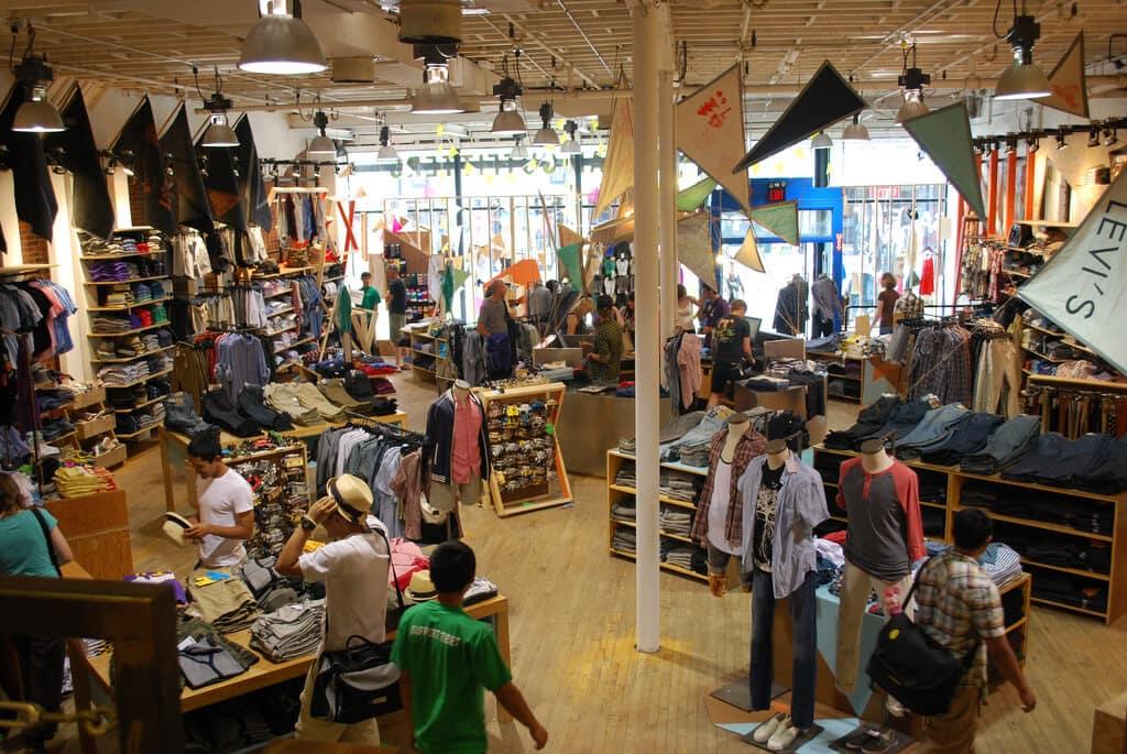 Loja Urban Outfitters em Orlando e Miami