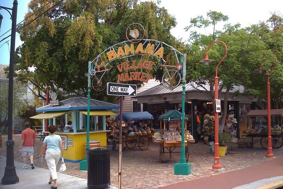 Bahama Village Market em Key West