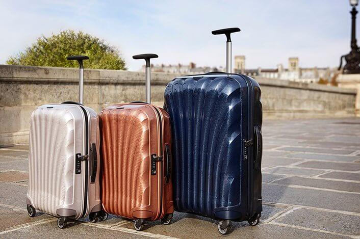 Diferentes tipos de malas de viagem