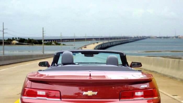 Carro em Key West