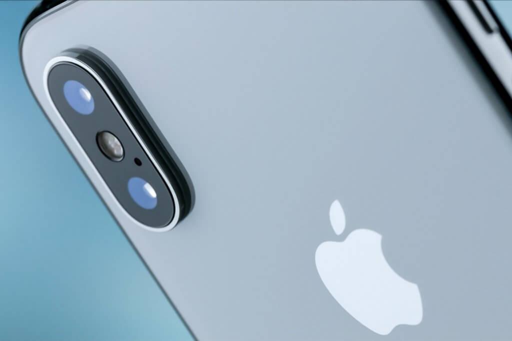 Câmera do Celular iPhone X da Apple