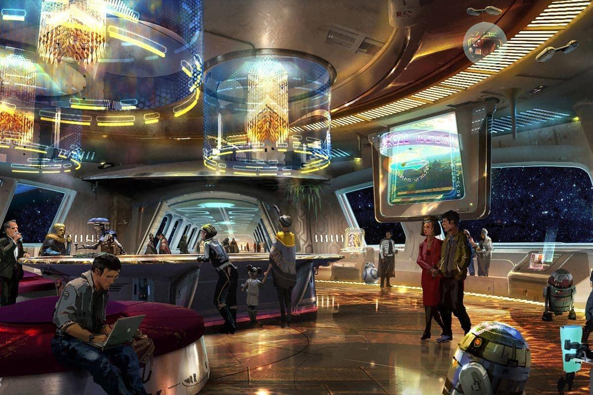 Hotel de Star Wars na Disney Orlando