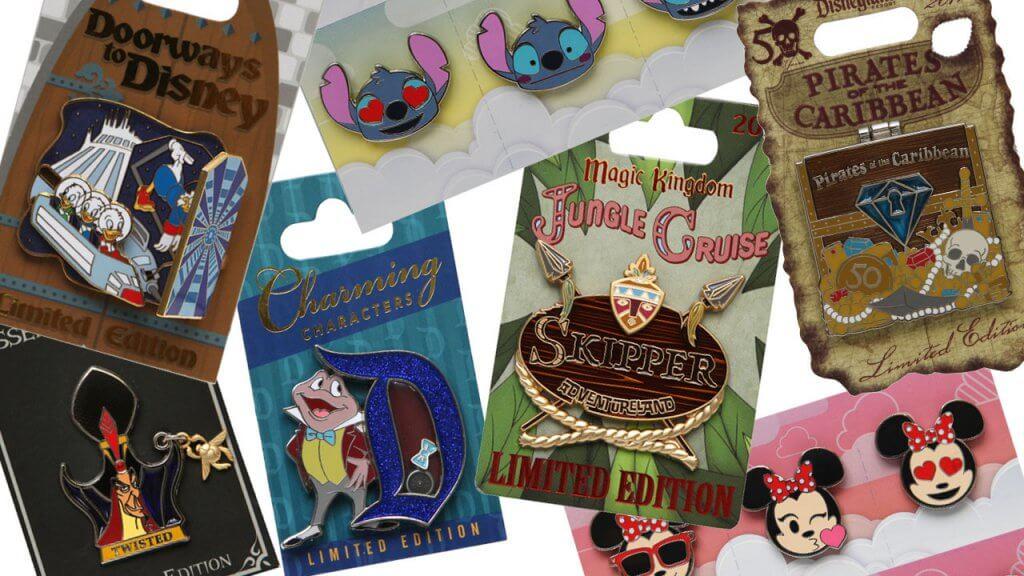 Pins da Disney