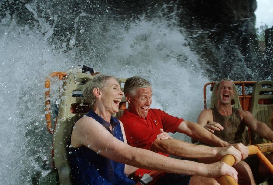 Atrações que molham na Disney e nos parques de Orlando