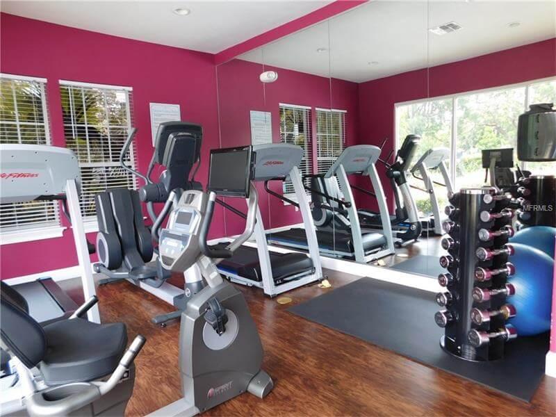 Academia do Condomínio de casas Lucaya Village Resort em Orlando