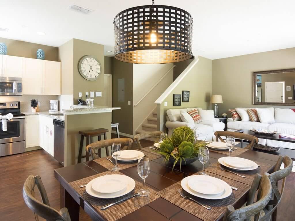 Sala da casa do Lucaya Village Resort em Orlando
