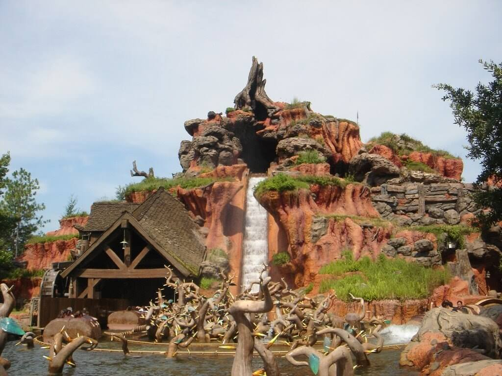 Splash Mountain no Magic Kingdom