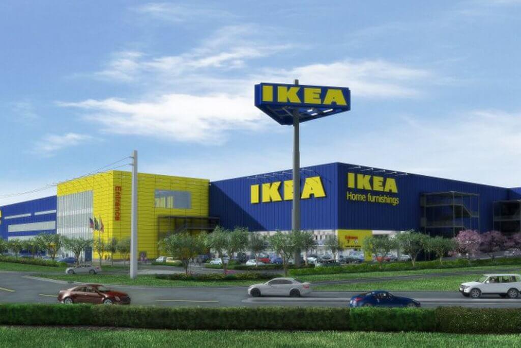 Exterior da loja Ikea em Miami