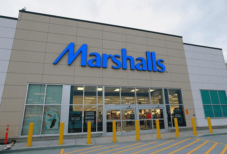 Lojas de departamento Marshallsem Miami e Orlando
