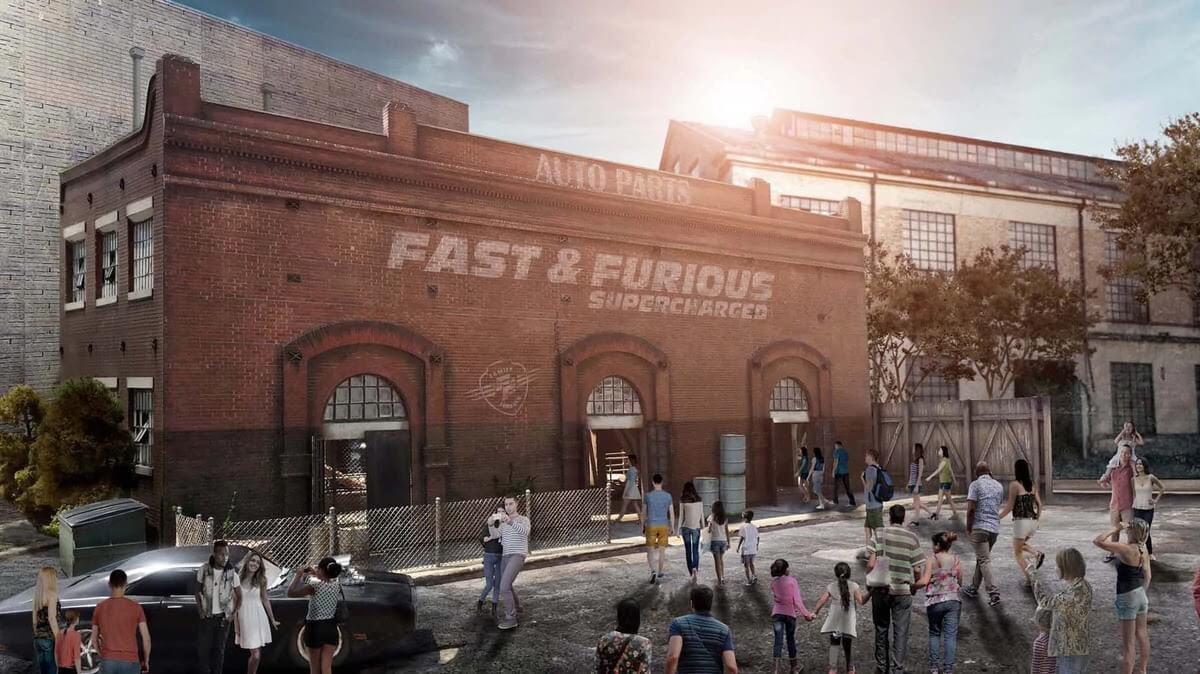 Nova atração de Velozes e Furiosos da Universal Orlando: Fast & Furious – Supercharged