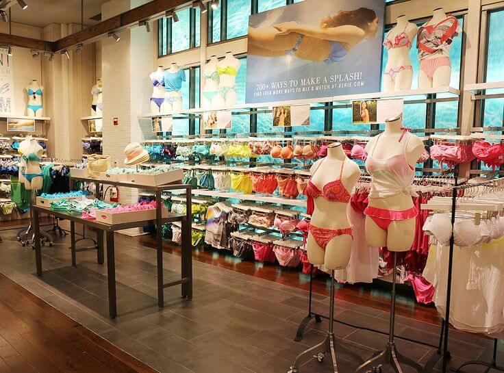 Loja de lingeries em Miami