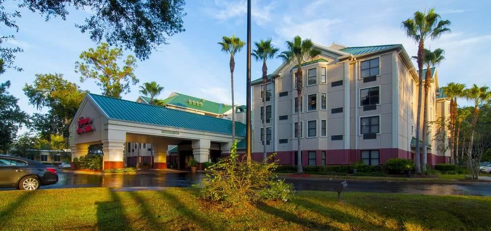 Hotel Hampton Inn em Tampa: entrada