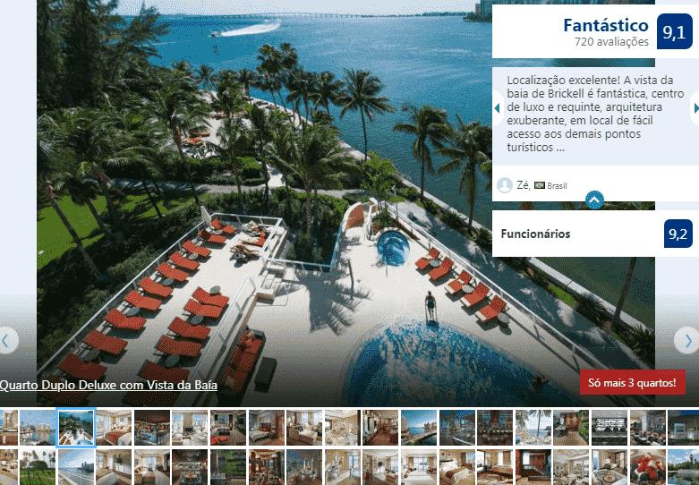 Hotel Mandarin Oriental em Miami: piscina