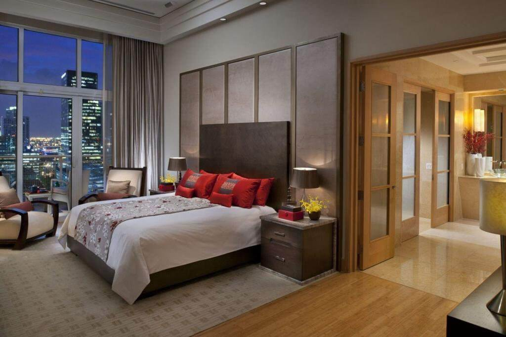 Hotel Mandarin Oriental em Miami: quarto
