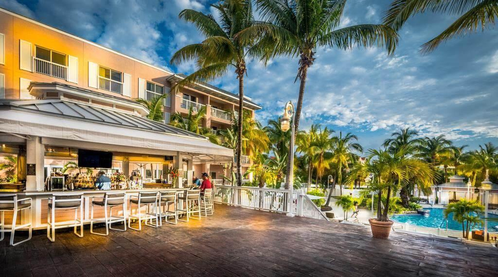Piscina do DoubleTree Resort by Hilton Hotel Grand Key West