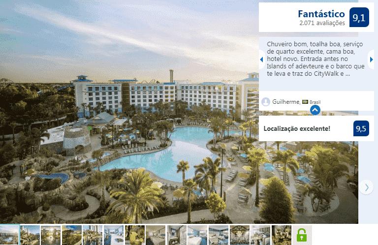 Loews Sapphire Falls Resort at Universal Orlando: piscina