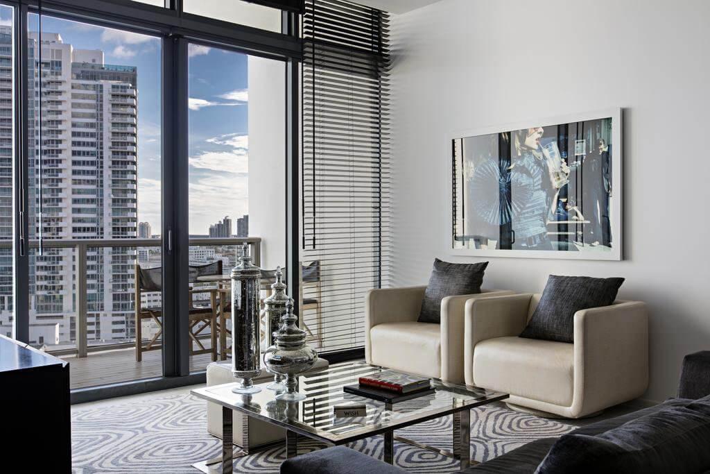 Hotel W South Beach em Miami: quarto