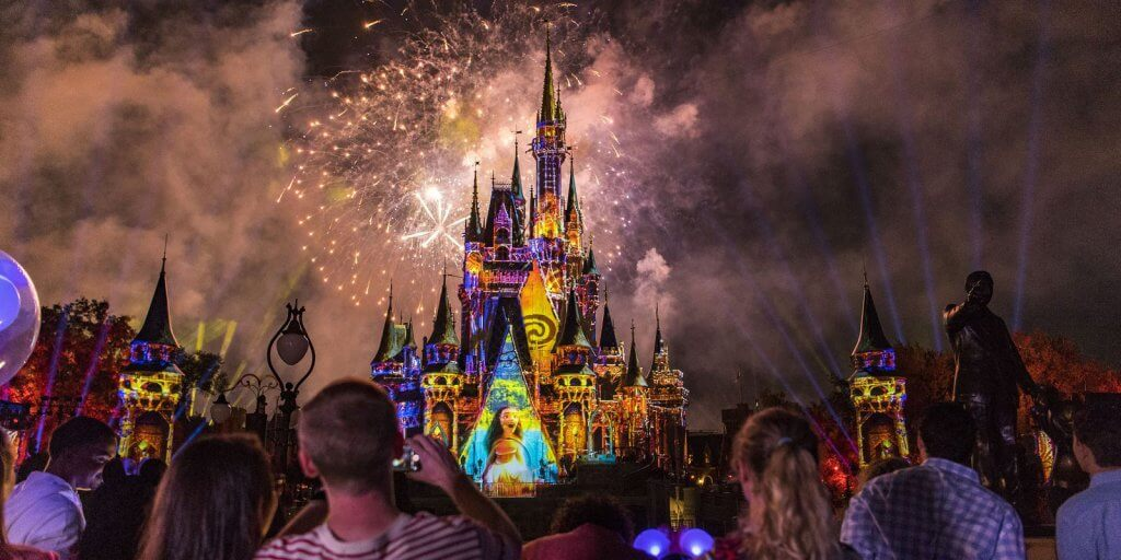 Show de fogos Happily Ever After no Magic Kingdom em Orlando