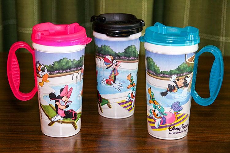 Garrafinhas d'água da Disney