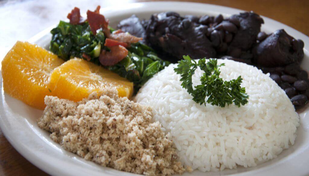Prato do restaurante de comida brasileira Camila's em Orlando