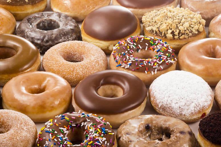 Krispy Kreme em Miami e Orlando - loja de Donuts
