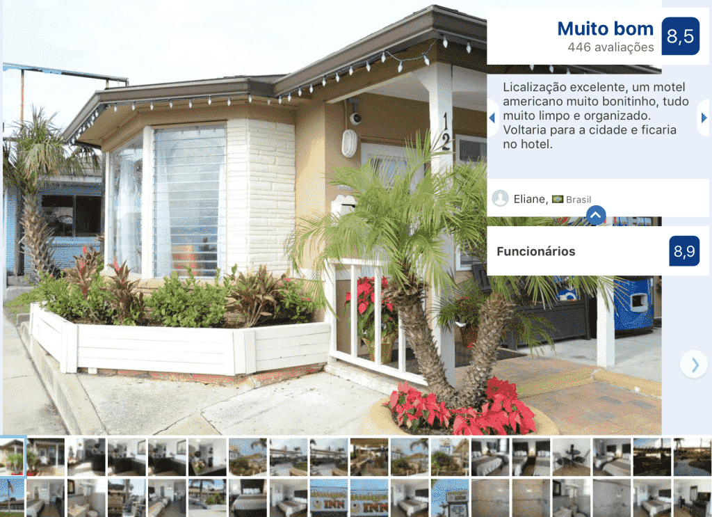 Hotel Budget Inn - Saint Augustine: frente