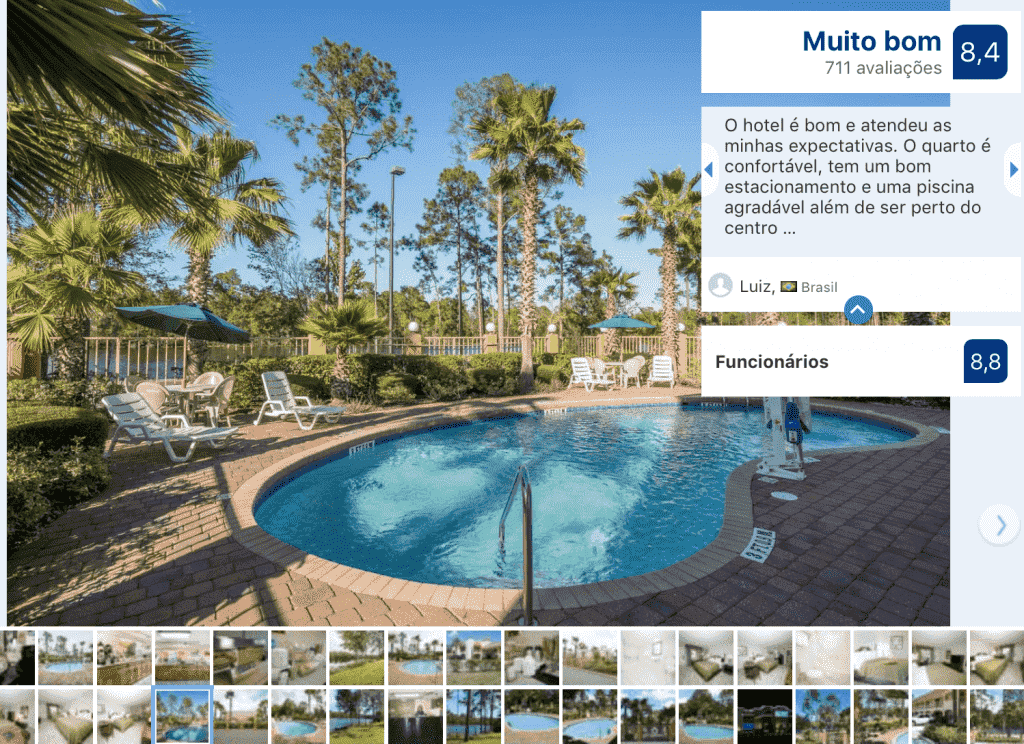 Hotel Quality Inn - Saint Augustine Outlet Mall: piscina
