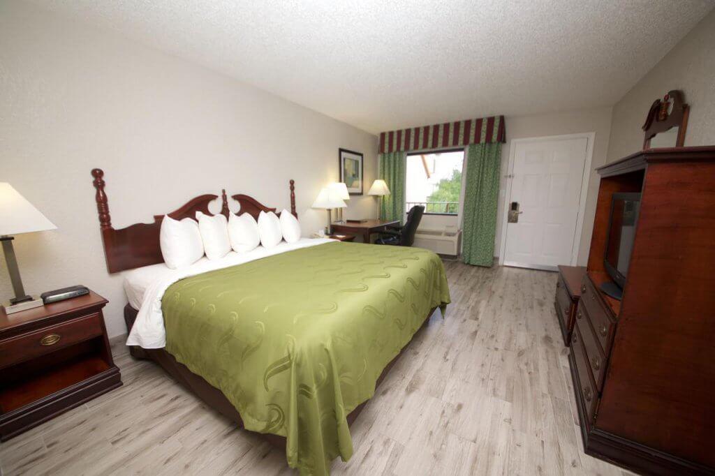 Hotel Quality Inn - Saint Augustine Outlet Mall: quarto