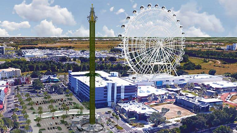Atração StarFlyer em Orlando: o carrossel mais alto do mundo