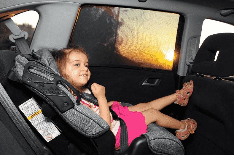 Criança em carro - Boca Raton
