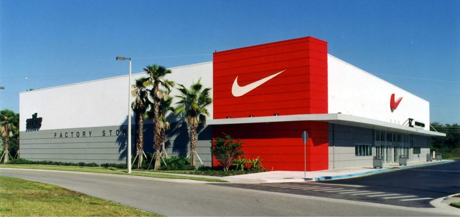 Lojas da Nike em Orlando e Miami