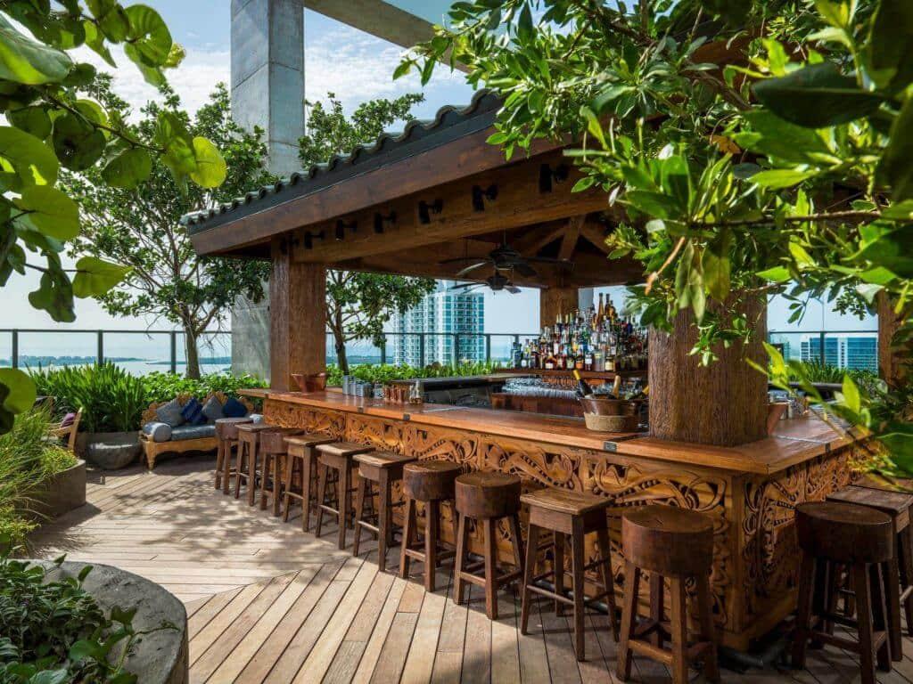 Melhores bares com rooftops em Miami
