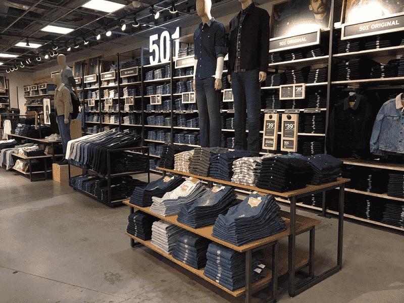 Loja Levis em Miami: Tudo sobre a loja Levi's em Orlando e Miami
