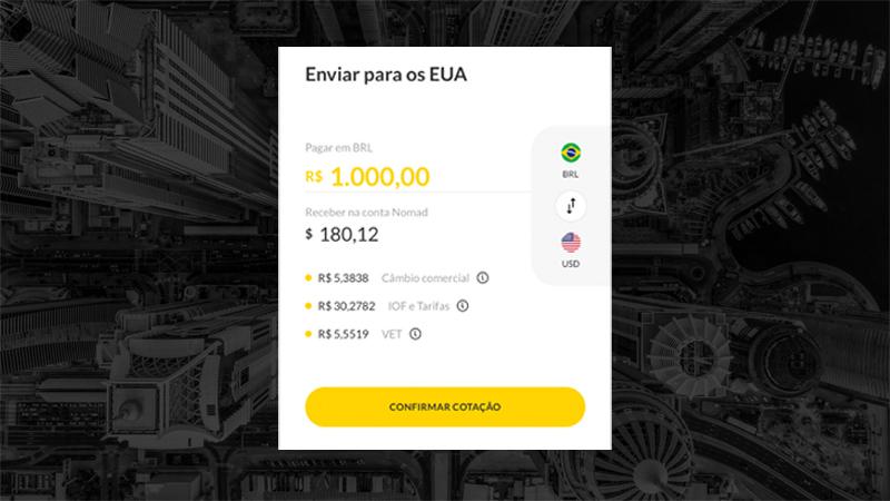 Como enviar dólares para os EUA do Brasil: banco