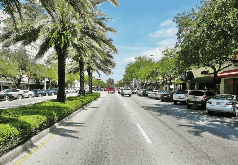 Coral Gables, em Miami