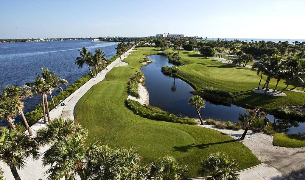 Campo de golfe em Palm Beach