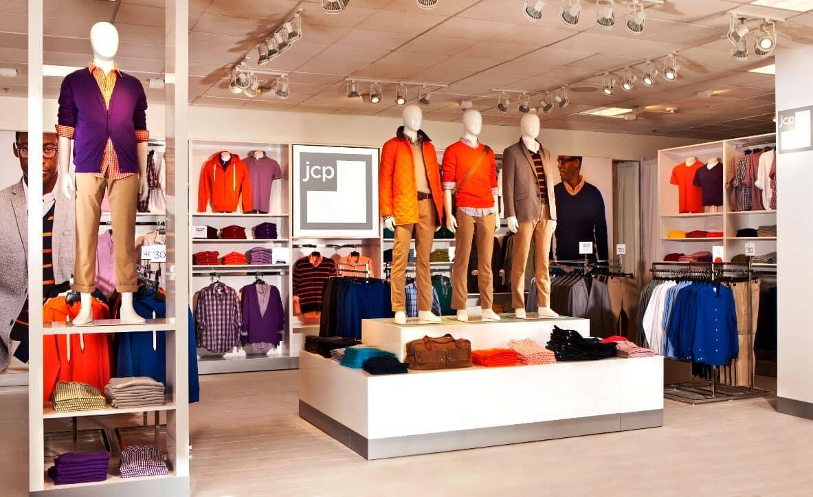 Loja de roupas JC Penny