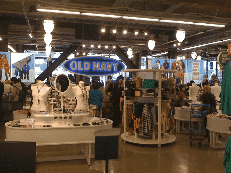 Loja de roupas Old Navy em Orlando