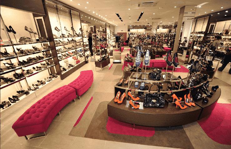 Loja de calçados em Miami
