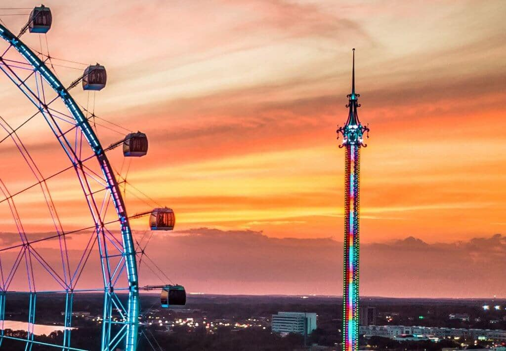 StarFlyer e roda-gigante ICON em Orlando