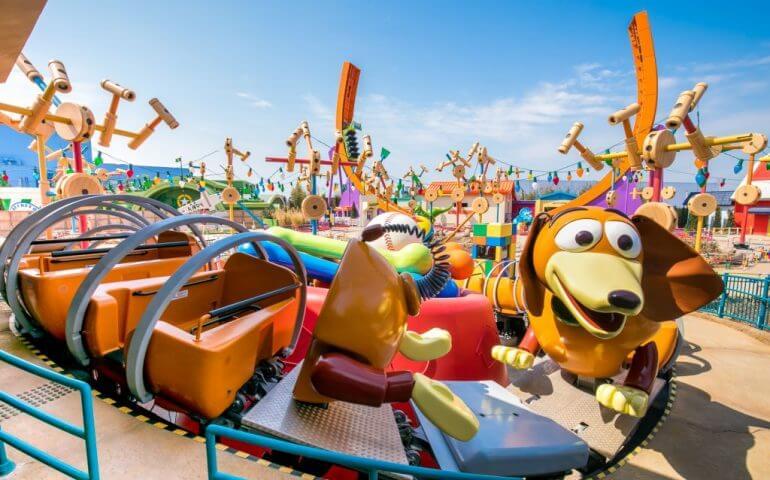 Montanha-russa da Área de Toy Story no Hollywood Studios