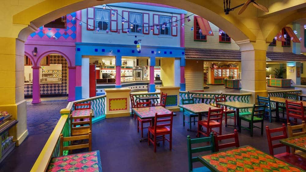Disney's Caribbean Beach Resort em Orlando: Restaurantes do Disney's Caribbean Beach Resort