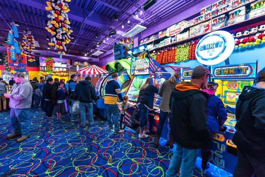 Arcade City no Icon Orlando 360 - jogos