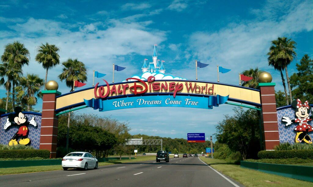 Entrada - Disney World