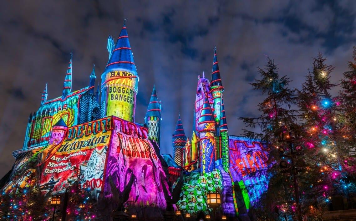 Natal na Universal Studios em Orlando