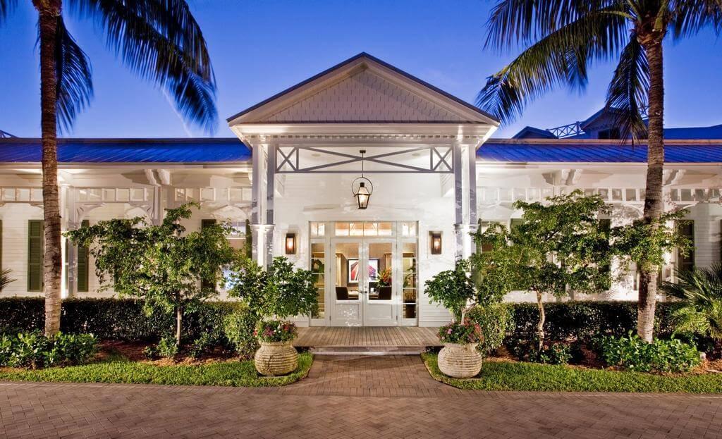 Fachada de estabelecimento em Key West