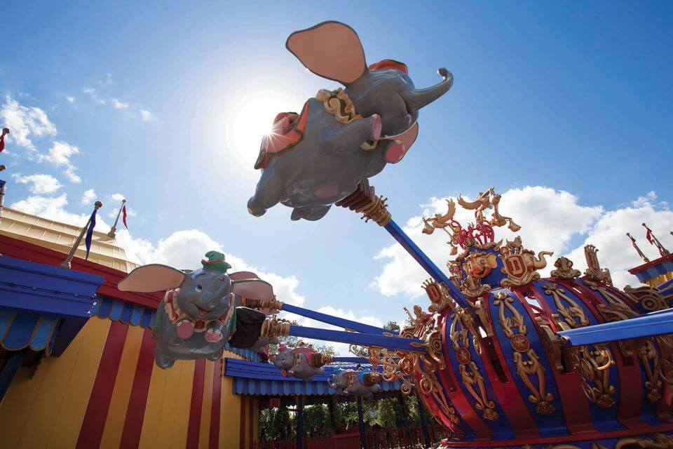 Dumbo the Flying Elephan