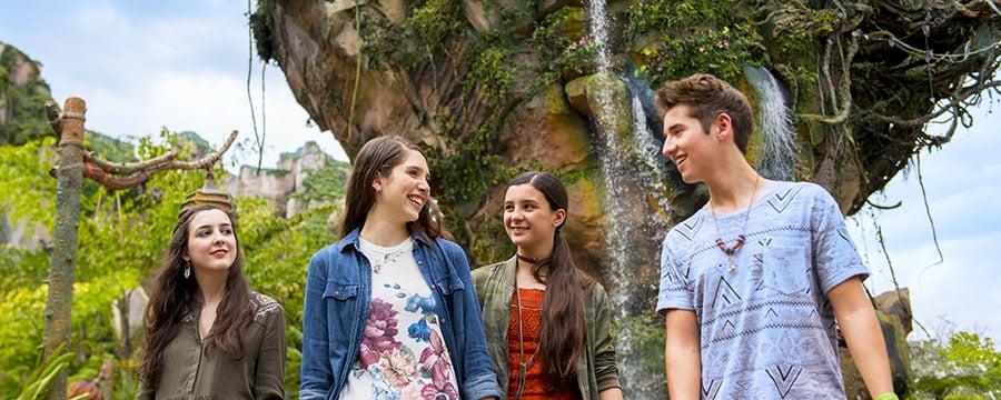 Excursão de adolescentes no Mundo de Pandora na Disney Orlando