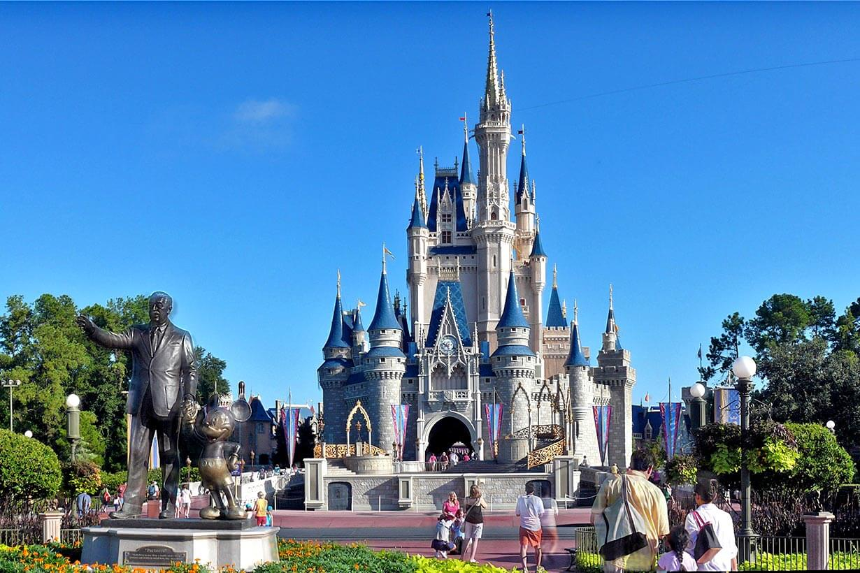 Parque Magic Kingdom em Orlando